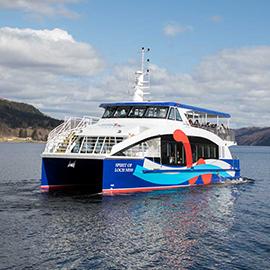 Cruise Loch Ness boat