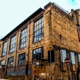 Glasgow School of Art where Charles Rennie Mackintosh Studied
