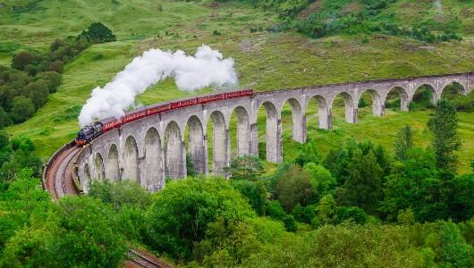 Glenfinnan Viaduct, Mallaig & Glencoe