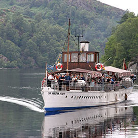 Sir Walter Scott Steamship Loch Katrine