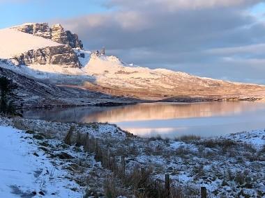 Skye in the snow