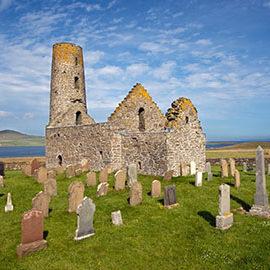 St Magnus Church, Egilsay, Orkney, Scotland