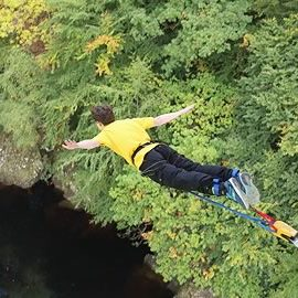 Highland Fling Bungee Jump
